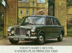 Princess Vanden Plas 1300; had a few of these - SDH 2M was the best. It was one of the last built (1974).