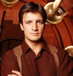 Nathan Fillion as Captain Malcolm from Firefly