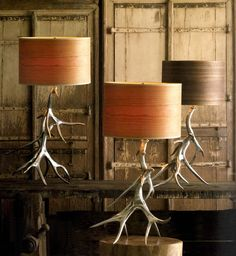 Antler Lamps  table lamps