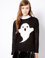 New Look Ghost Sweater - Asos