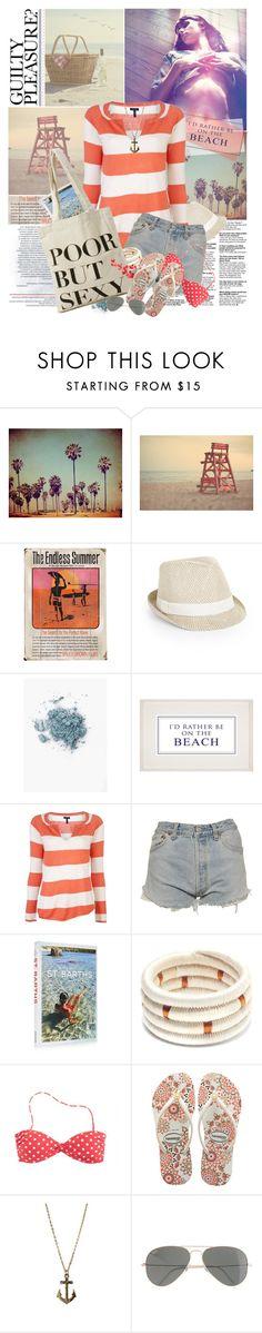 """Under The Same Sun"" by jesuisunlapin ❤ liked on Polyvore featuring Venice Beach, Paul Frank, Endless, BCBGMAXAZRIA, John Lewis, Splendid, Levi's, Assouline Publishing, Souve and J.Crew"