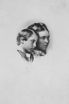 Victoria, Crown Princess of Prussia, and her son, Prince William, 1869 [in Portraits of Royal Children Vol.14 1869-70] | Royal Collection Trust
