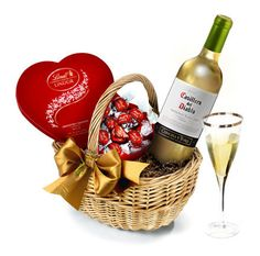 The White Wine & Chocolate Hamper With Love #MothersDay