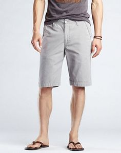 Gray Carmel Shorts - Men's Shorts - Lucky Brand Jeans