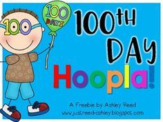 Please enjoy this 100th day packet as my gift to you for surviving your first 100 days in school. :)  It includes several no prep, ready to use activities to make your 100th day fun and educational.