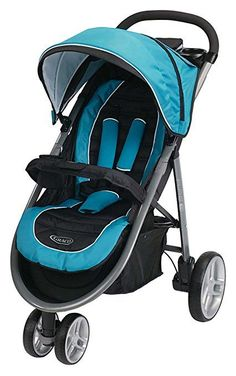 The Graco Click Connect Stroller is designed to make it extra easy for you to travel with your baby. This sleek, lightweight stroller weighs just 21 lb. and features a design that makes it easy to lift, carry and maneuver Best Lightweight Stroller, Best Double Stroller, Double Strollers, Single Stroller, Strollers For Dolls, Baby Strollers, Best Baby Prams, Travel System, Baby Gear