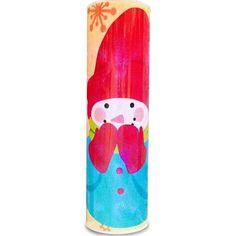 Snowman cylinder light
