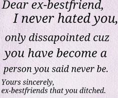 ex bestfriend quotes - Google Search