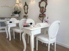 Ideas For Manicure Pedicure Spa Spas Home Beauty Salon, Home Nail Salon, Nail Salon Decor, Hair Salon Interior, Beauty Salon Decor, Beauty Room, Nail Salon Design, Salon Interior Design, Nails Bar