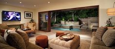 Laguna Beach Residence - contemporary - living room - los angeles - Chipper Hatter Architectural Photographer