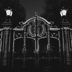 Let me enter the golden gates!  #vscocam #vsco #vscogood #travel #travelgram #attraction #aristocracy #art #explore #neverstopexploring #history #bw #noir #potd #iphoneonly #photography #uk #britain #greatbritain #wanderlust #gate #buckingham #palace #tour #luxury #royal #lights #gold #architecture #thisislondon by connoisseur_christian