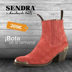 Es primavera...dale color a tus pies con el botín Lia Serraje! / It is spring...give colour to your feet with the ankle boot Lia Serraje!  #ShopBoots #SendraBoots #Boot #Botas