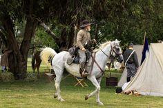 Civil War - Rebel Cavalry by ConfessChrist, via Flickr