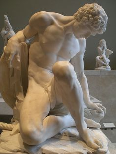 The Dying Gladiator, The Louvre, Pierre Julien ,1779