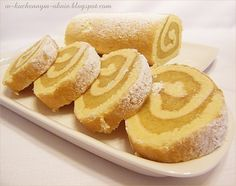 rolada biszkoptowa - przepis podstawowy Angel Cake, Pretzel Bites, Bread, Recipes, Food, Dessert Ideas, Food Food, Angel Food Cake, Angel Food Cakes