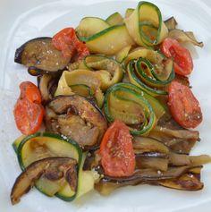 Salade de légumes grillés à la Plancha du blog Mignardises and Co