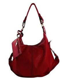 Look at this #zulilyfind! Red Dixie Shoulder Bag #zulilyfinds