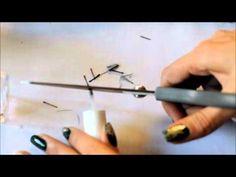 """Pratik Nail Art Fırça Yapımı """"How to make your own nail brush"""""""