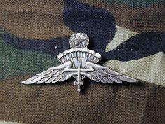 Military Freefall Halo Jumpmaster Parachutist Miniature Jump Wings ...