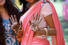 Bride's Mehendi Hand