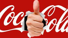 Thumbs up coca cola