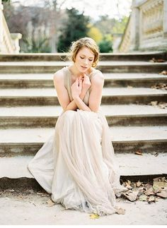 Autumnal Bridal Inspirations in Paris by Celine Chhuon Photography