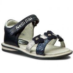 Sandále NELLI BLU - C17SS726-1 Tmavo modrá