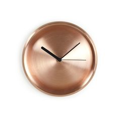 Solid Copper Wall Clock - Clocks - #HealsAW15 #GrandDesignsHeals