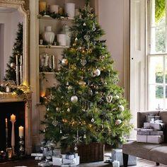 Casinha colorida: Inspiração: árvores de Natal