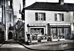L'ex restaurant Cocard de Larchant 77