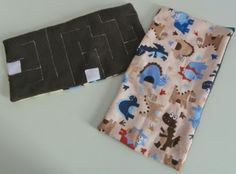 Fabric Marble Maze  Dinosaur Patterned Flannel by EmmisOwls, $6.00
