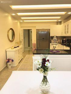 Scream Meme, Colored Hair Tips, Starter Home, Present Day, House Design, Mirror, Kitchen, Furniture, Home Decor