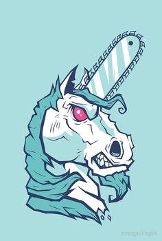 Brutal Unicorn by strangethingsA