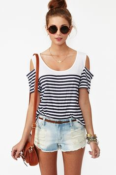 cutout tshirt
