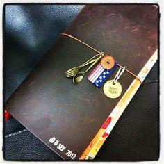 楽しいものを詰め込んだノート | TRAVELER'S notebook みんなの投稿 - MIDORI