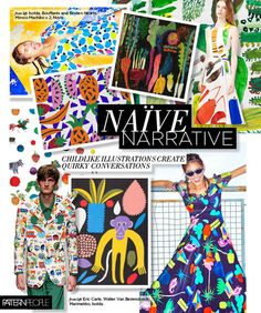 #PatternPeople SS17 trend preview, Naive Narrative, on #WeConnectFashion
