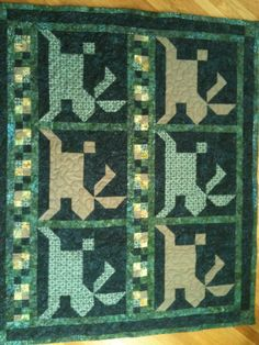 Quilt for Cameron John Partridge.