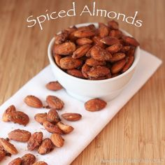 Spiced Almonds from @Emeril | Cupcakes & Kale Chips 2012 (@CupcakeKaleChip)