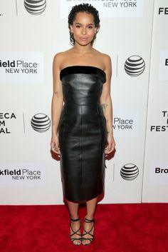 4fead6c7a7 How to dress like Zoe Kravitz -- today on chicityfashion.com Tribeca Film  Festival