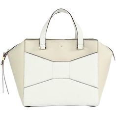 Pre-owned Kate Spade Beau Beau Preppy Prep Leather Handbag Tan Fashion... (17.510 RUB) ❤ liked on Polyvore featuring bags, handbags, leather zipper pouch, leather tote, tan leather handbags, leather tote handbags and zipper pouch