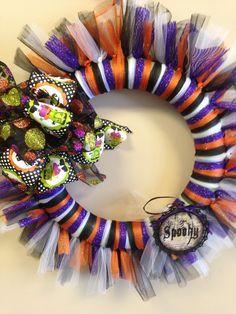 Halloween Wreath $35