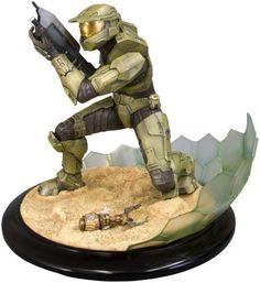 Zzz Kotobukiya Halo 3 Master Chief Field of Battle ArtFX Statue by Kotobukiya
