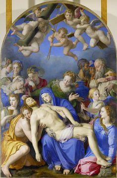 Bronzino - Jesus our Christ