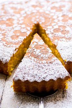 Gluten Free Tangerine Cake ~ imagery