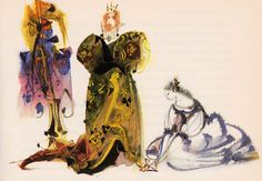 my vintage book collection (in blog form).: European Fairy Tales - illustrated by Mirko Hanak