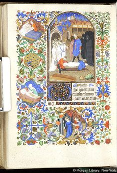 Book of Hours, MS M.453 fol. 133v - Images from Medieval and Renaissance Manuscripts - The Morgan Library & Museum