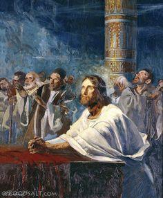 John 12: Jesus Praying at the Temple