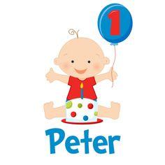 Primo compleanno del bambino personalizzato di siblingspecialtees