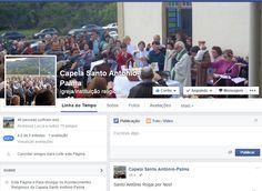 Conheça a página da Capela Santo Antônio da Palma no Facebook :: Palma8SM.com