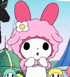 My Melody Sanrio, Melody Hello Kitty, Sanrio Hello Kitty, Hello Kitty Characters, Sanrio Characters, Cute Characters, Anime Kitten, Look Wallpaper, Best Anime Shows